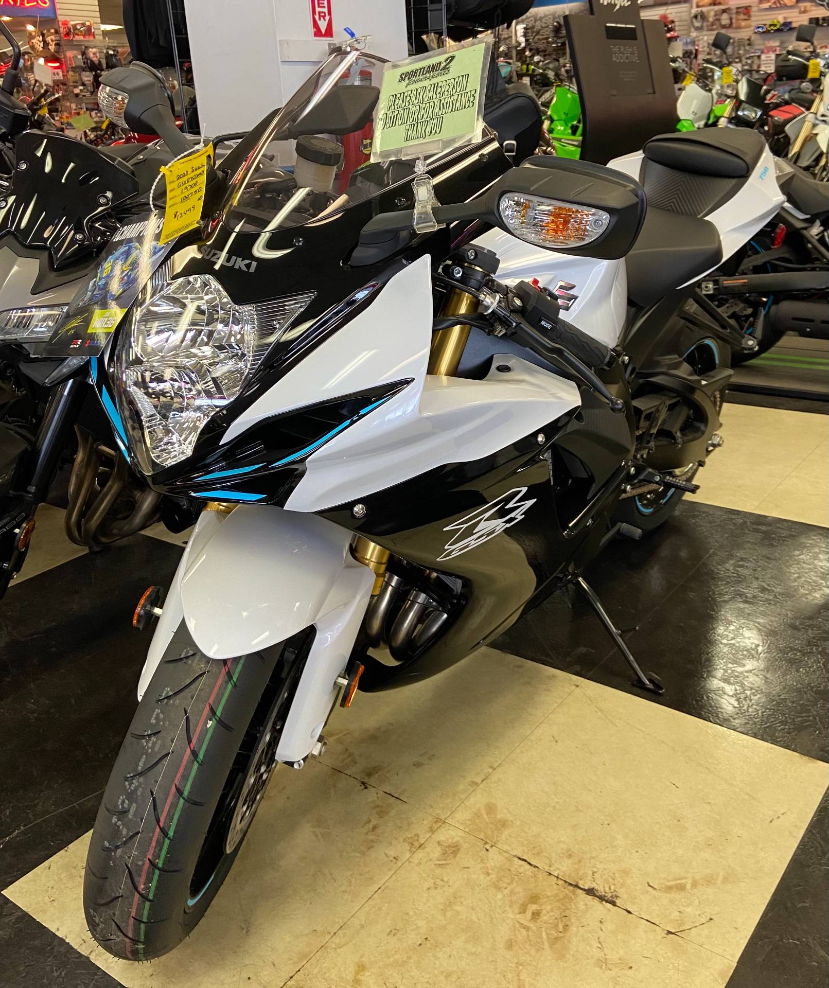 2020 Suzuki GSX-R750 in Oak Creek, Wisconsin - Photo 1