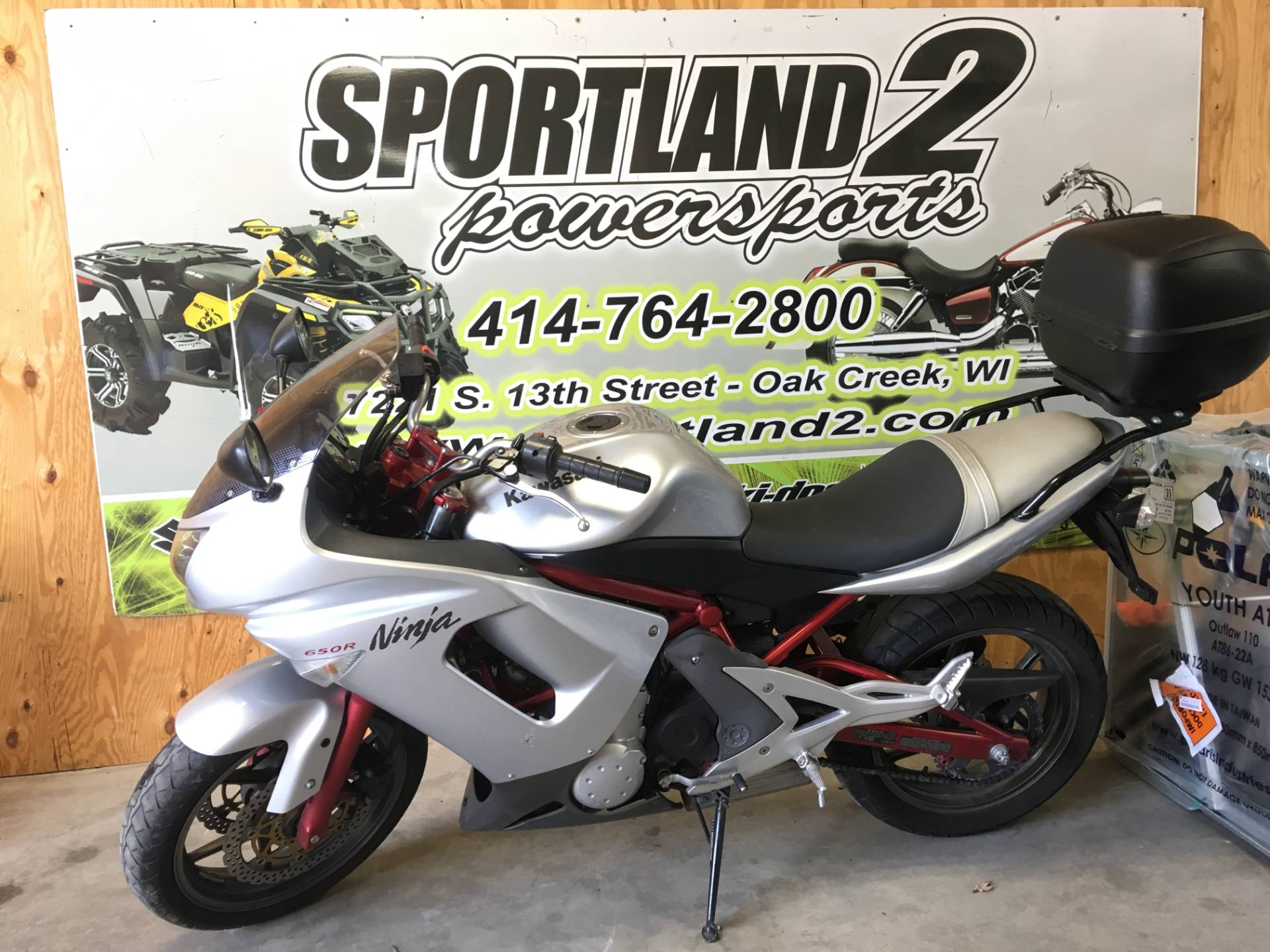 2006 Kawasaki Ninja® 650R in Oak Creek, Wisconsin