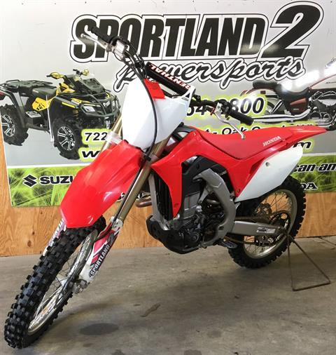 2017 Honda CRF450R in Oak Creek, Wisconsin - Photo 2
