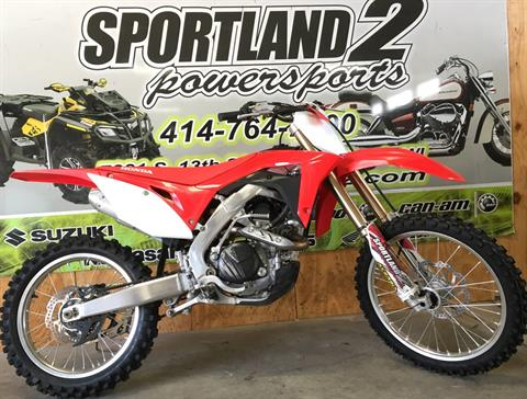 2017 Honda CRF450R in Oak Creek, Wisconsin - Photo 5