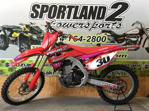 2017 Honda CRF450R in Oak Creek, Wisconsin - Photo 1