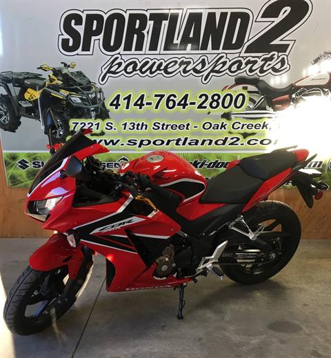 2017 Honda CBR300R ABS in Oak Creek, Wisconsin
