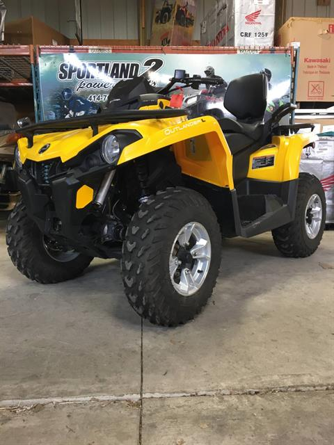 2016 Can-Am Outlander L MAX DPS 570 in Oak Creek, Wisconsin - Photo 3