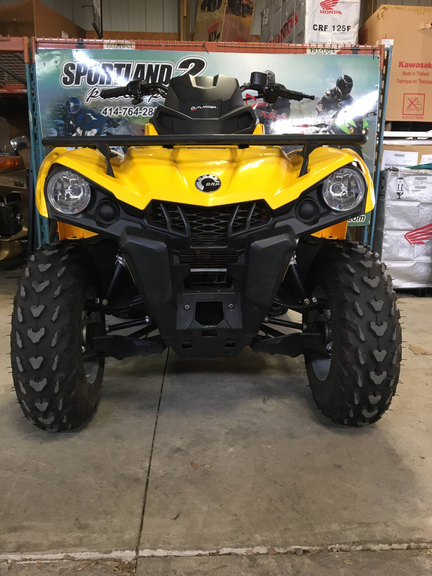2016 Can-Am Outlander L MAX DPS 570 in Oak Creek, Wisconsin - Photo 4