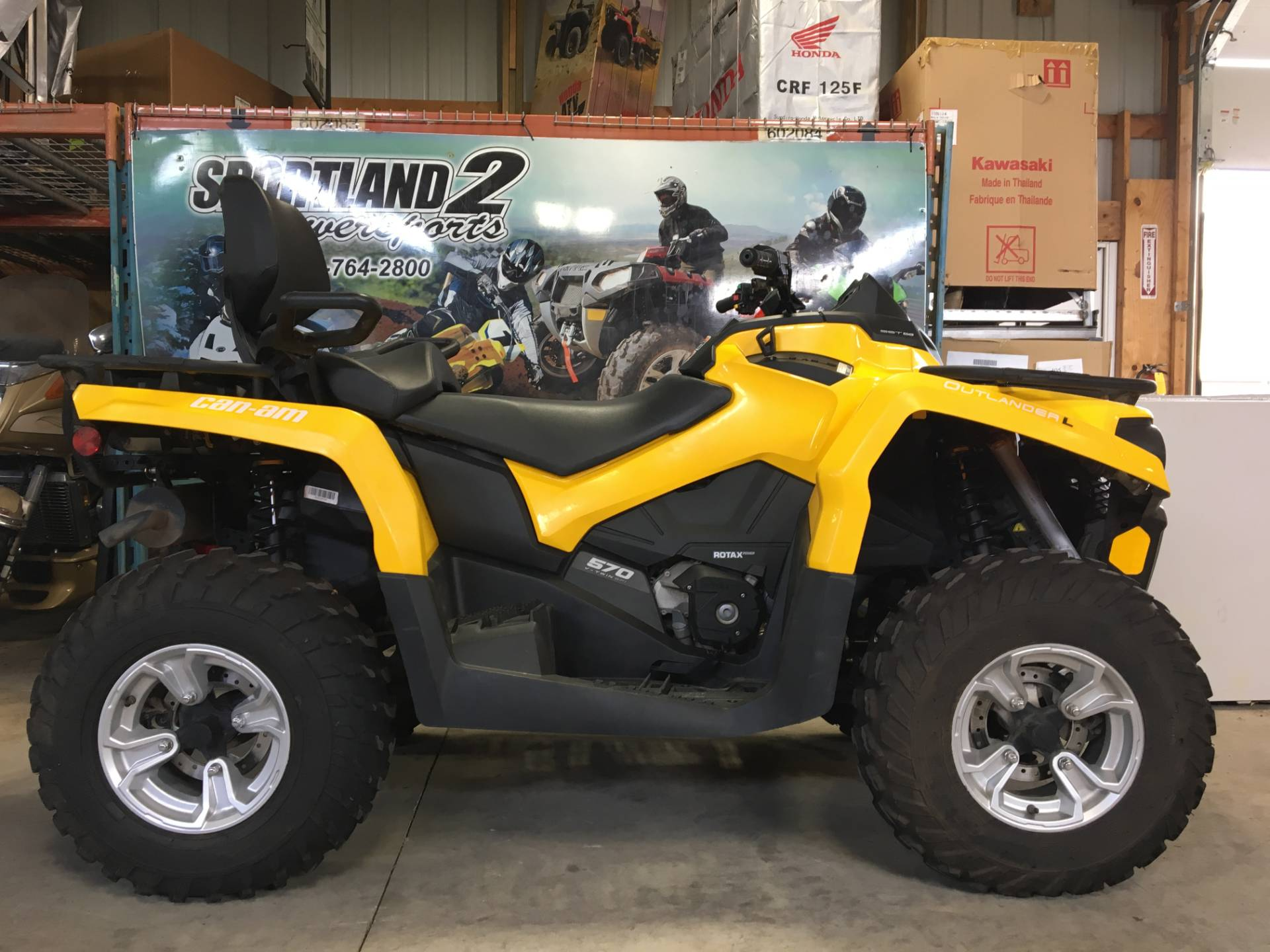 2016 Can-Am Outlander L MAX DPS 570 in Oak Creek, Wisconsin - Photo 1