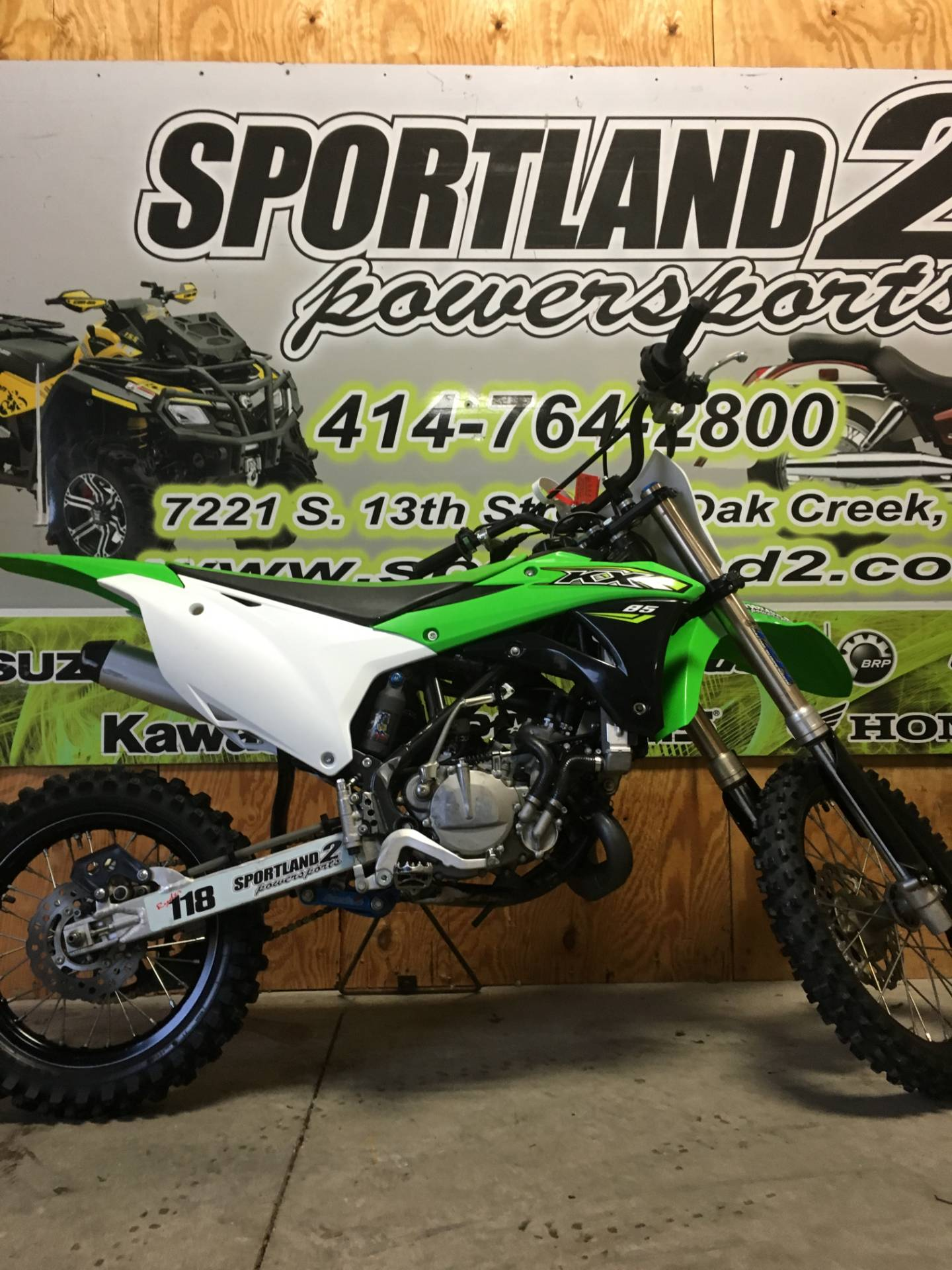 2018 Kawasaki KX 85 in Oak Creek, Wisconsin