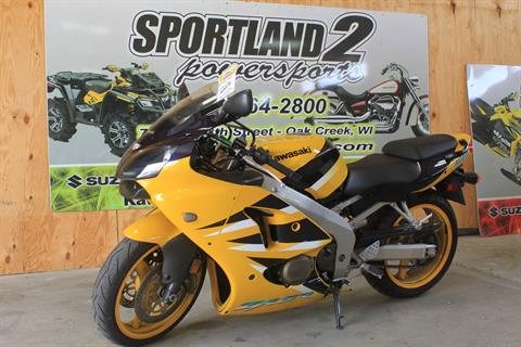 2001 Kawasaki Ninja ZX-6R in Oak Creek, Wisconsin