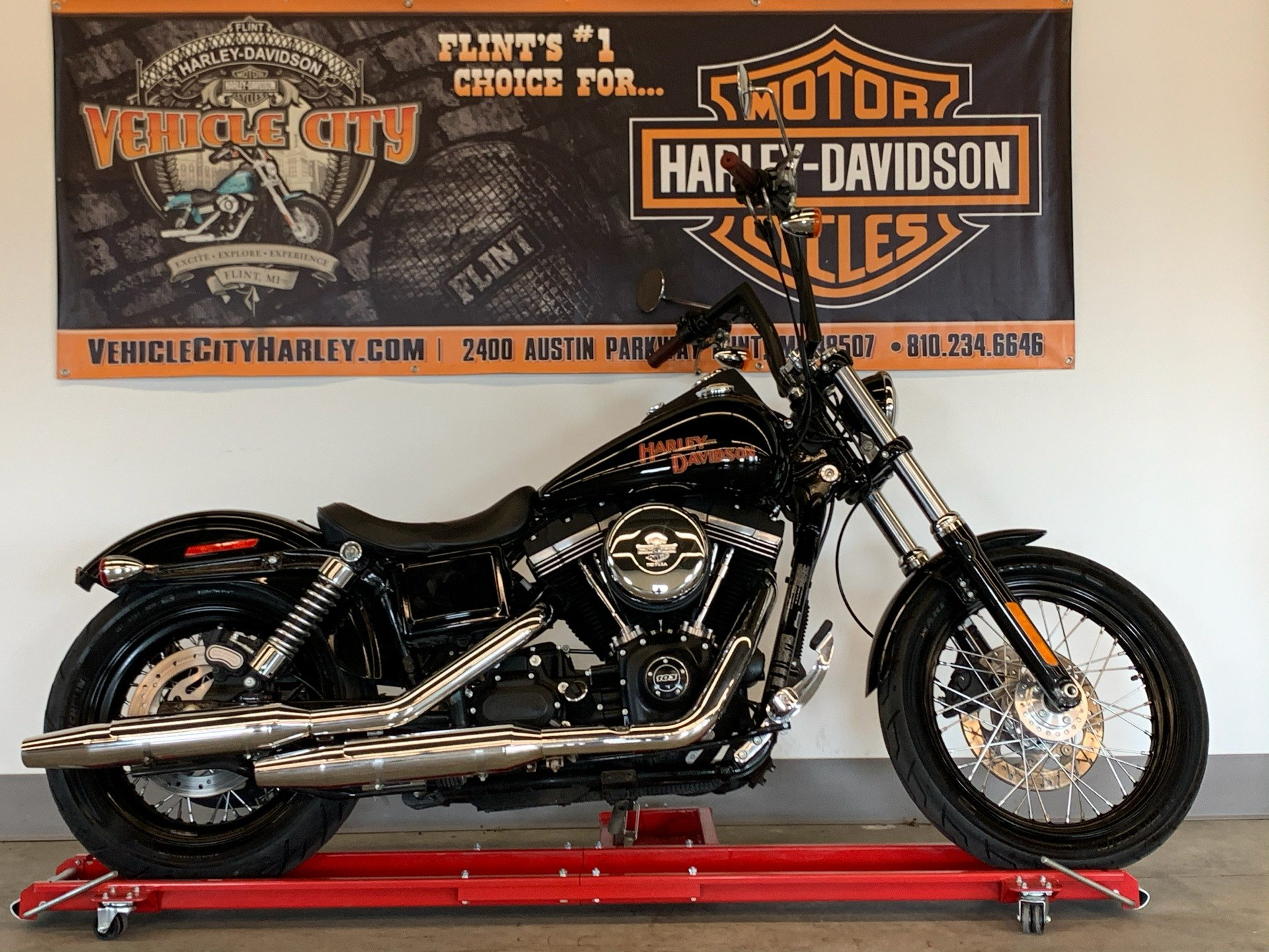 2017 Harley-Davidson Street Bob® in Flint, Michigan - Photo 1