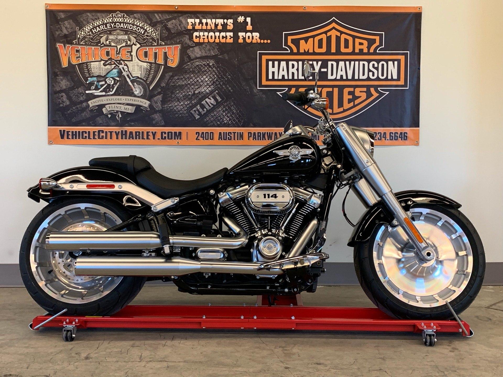 New 2020 Harley-Davidson Fat Boy® 114 | Motorcycles in Flint