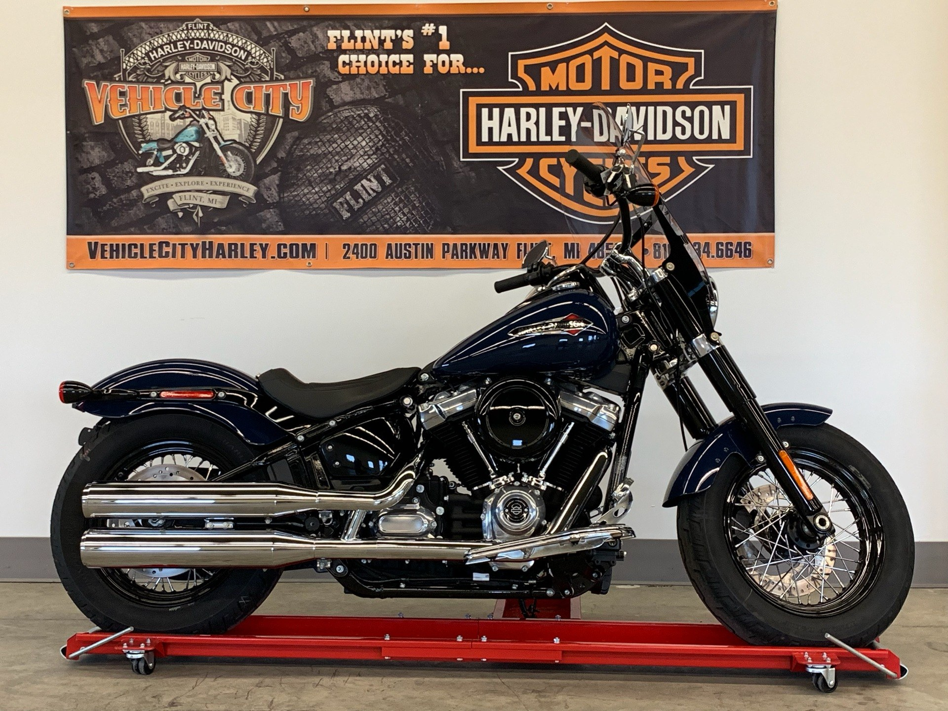 Harley Davidson Michigan >> 2019 Harley Davidson Softail Slim In Flint Michigan