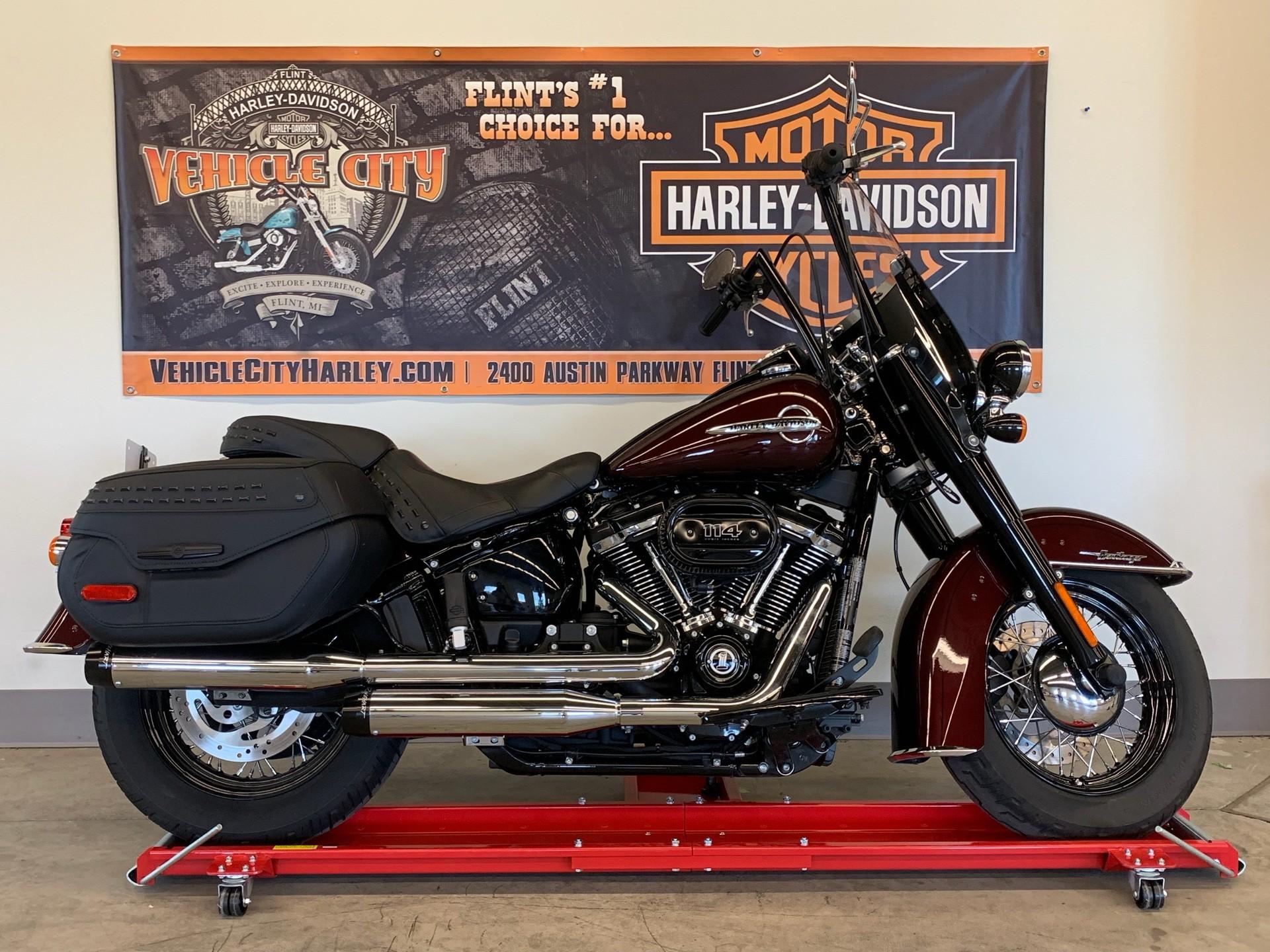 Harley Davidson Used >> 2018 Harley Davidson Heritage Classic 114 In Flint Michigan
