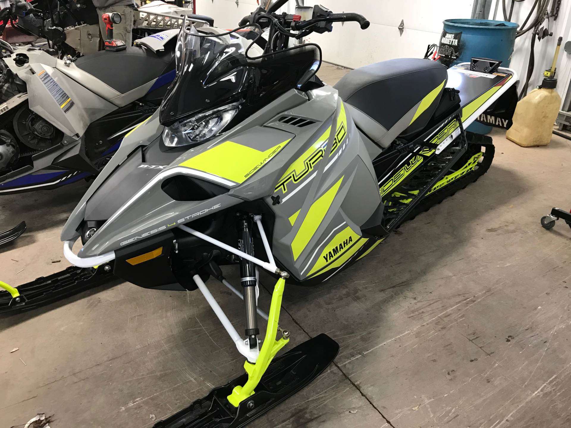 2018 Yamaha Sidewinder B-TX SE 153 1.75 in Hancock, Michigan - Photo 1