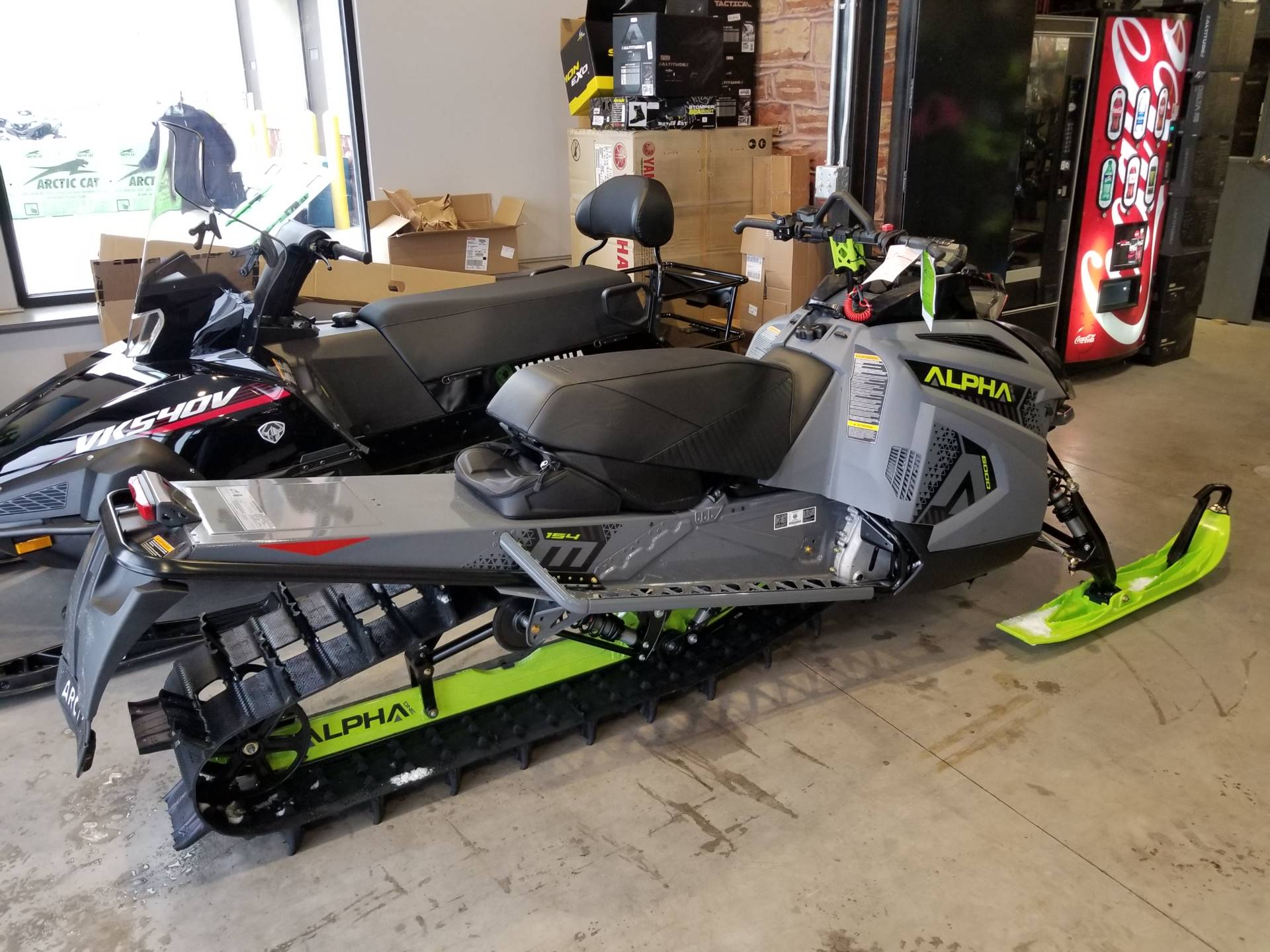 2020 Arctic Cat M 6000 Alpha One 154 in Hancock, Michigan - Photo 2