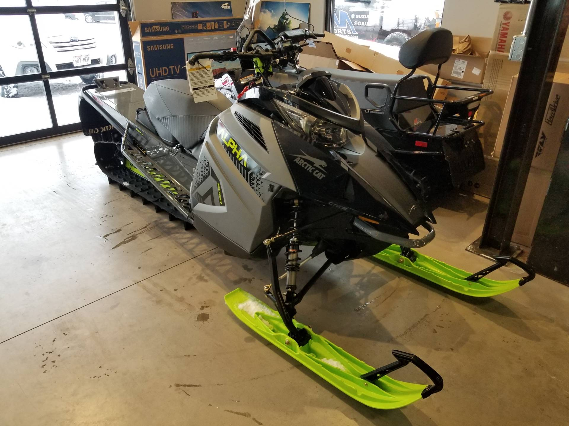 2020 Arctic Cat M 6000 Alpha One 154 in Hancock, Michigan - Photo 3