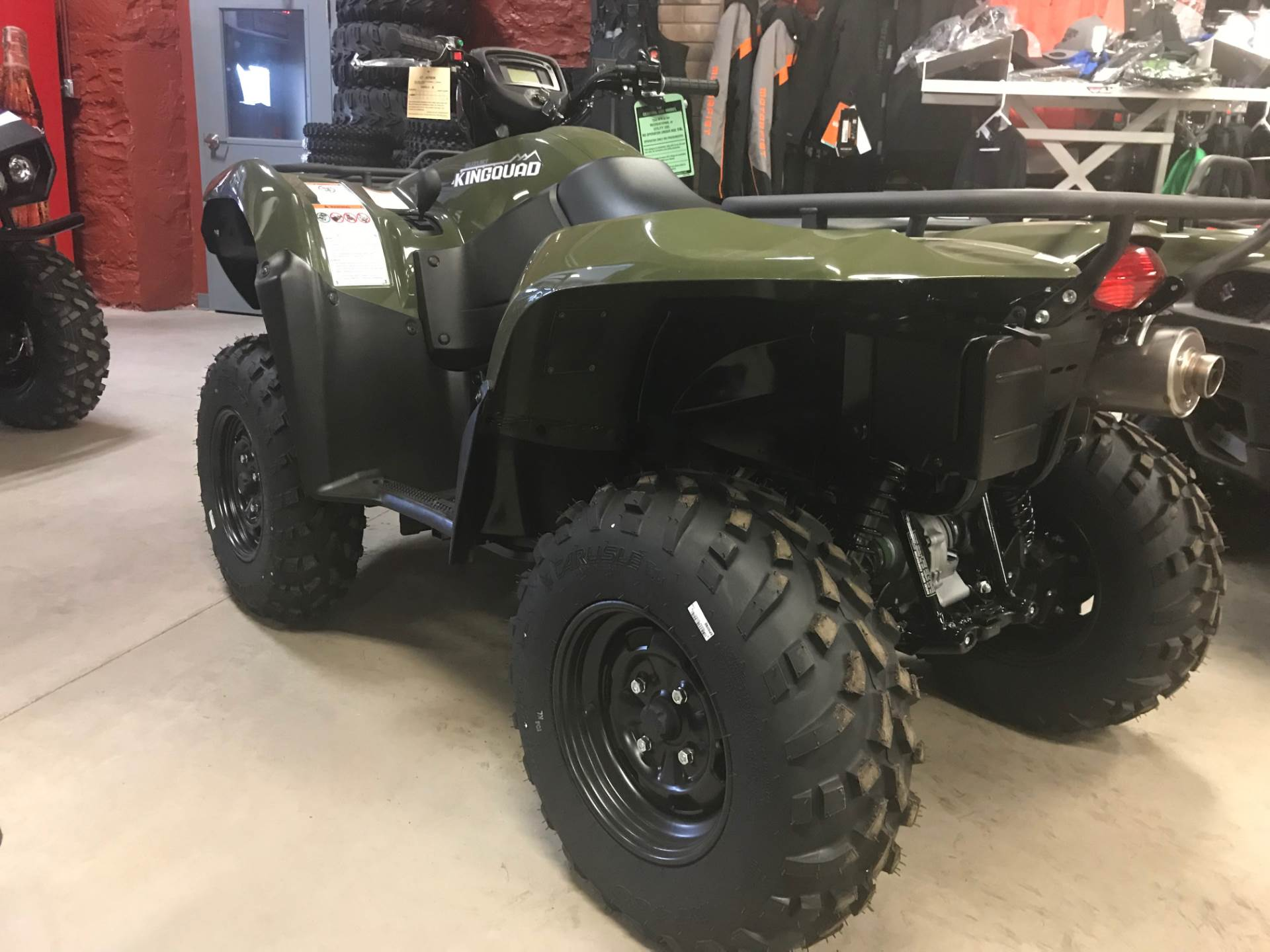 2018 Suzuki KingQuad 750AXi in Hancock, Michigan