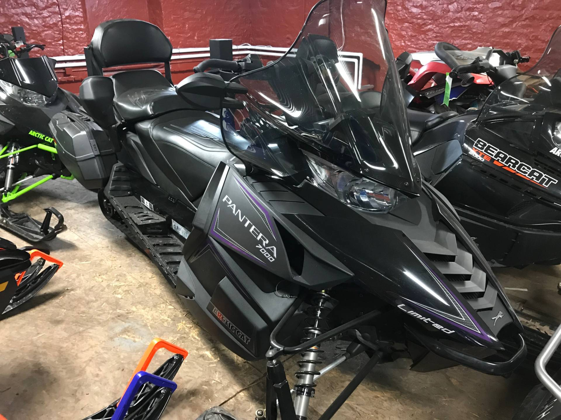 2017 Arctic Cat Pantera 7000 LTD EB in Hancock, Michigan