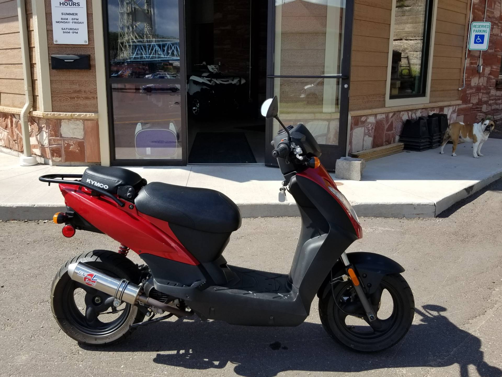 2012 Kymco Agility 50 in Hancock, Michigan - Photo 1
