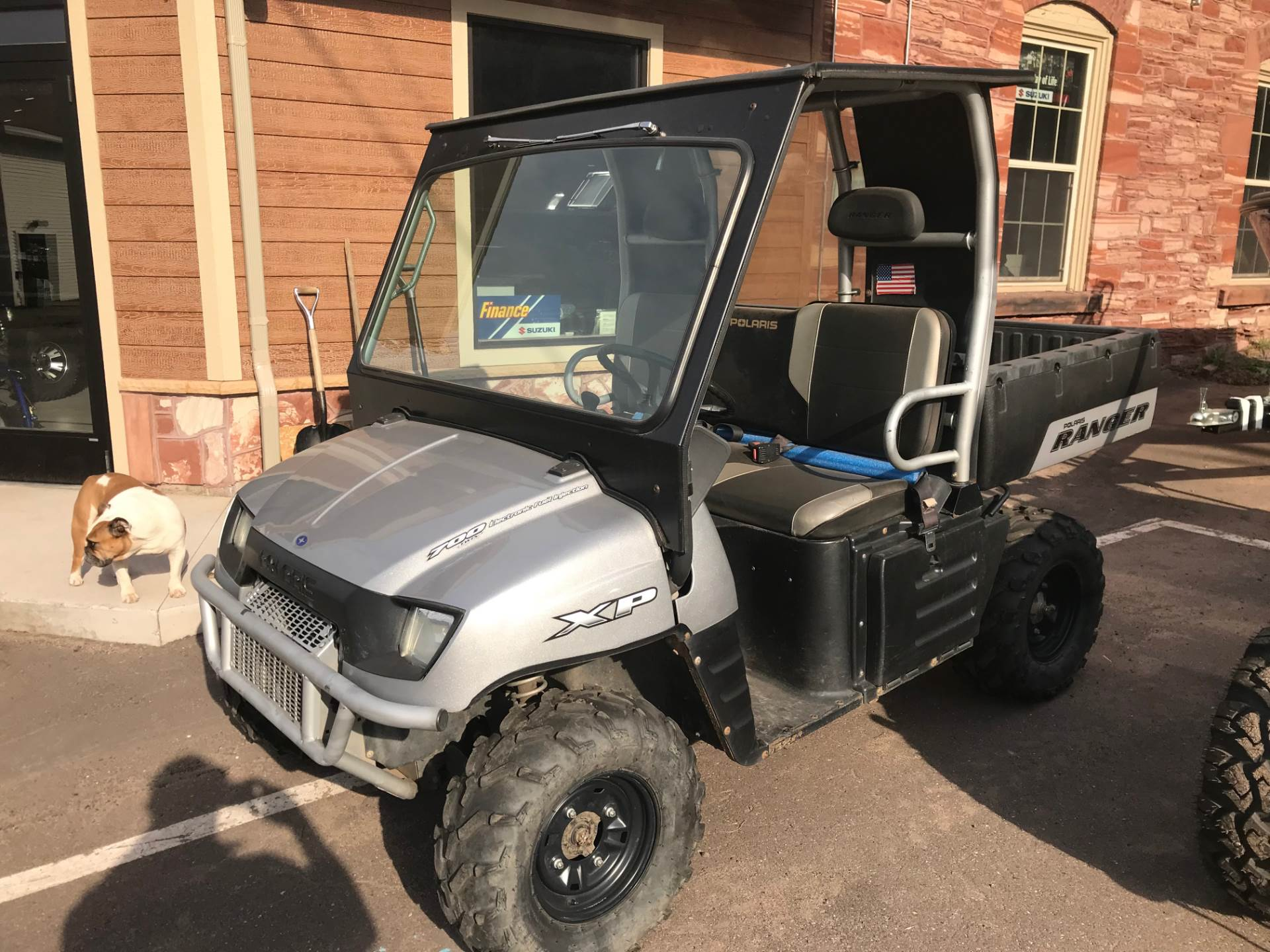 2007 Polaris Ranger XP Turbo Silver Limited Edition in Hancock, Michigan