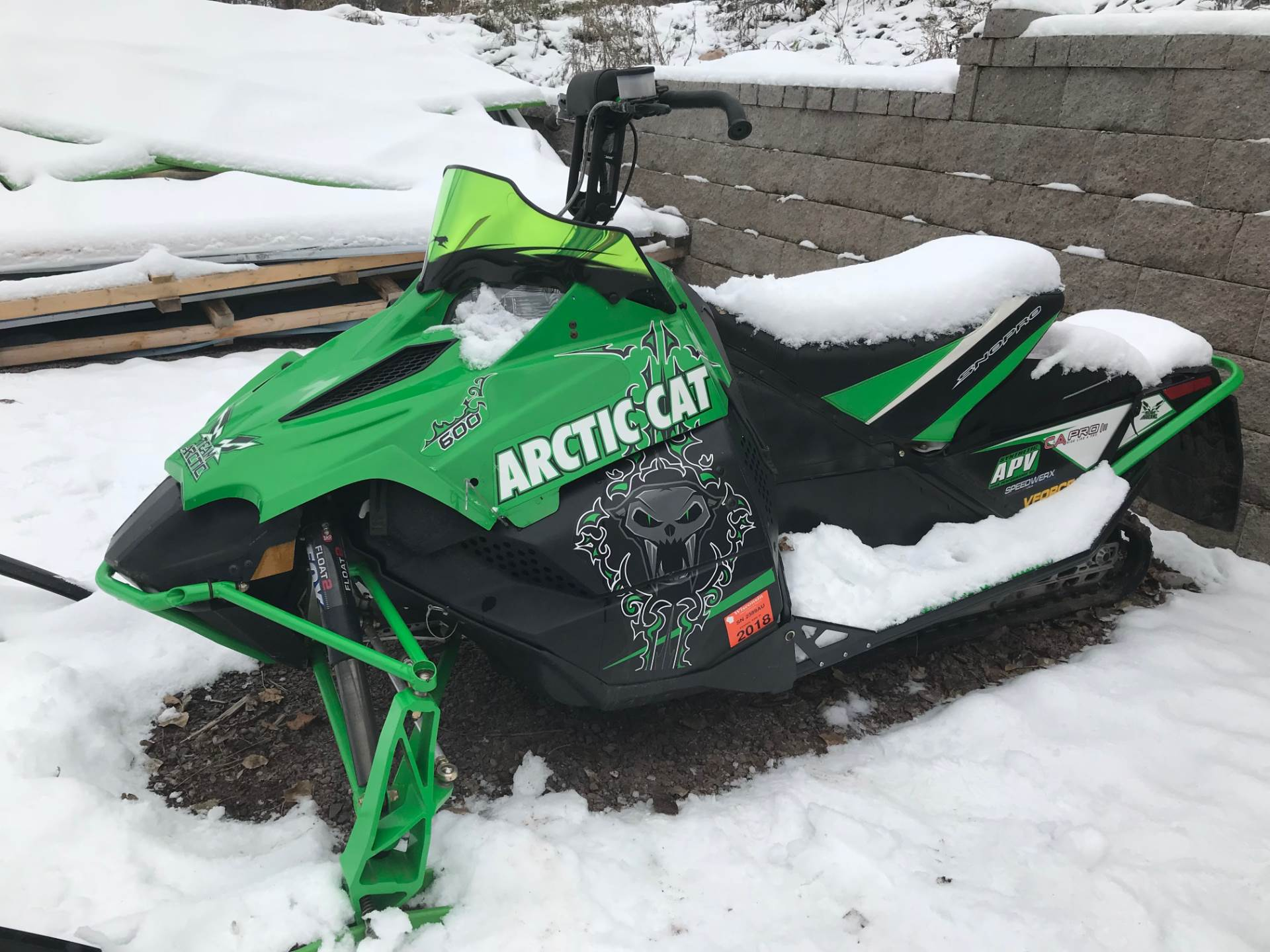 2011 Arctic Cat Sno Pro 600 XC in Hancock, Michigan - Photo 4