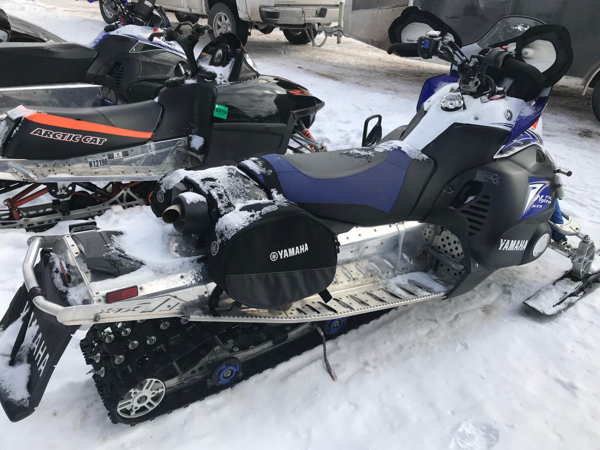 2010 Yamaha FX Nytro XTX in Hancock, Michigan