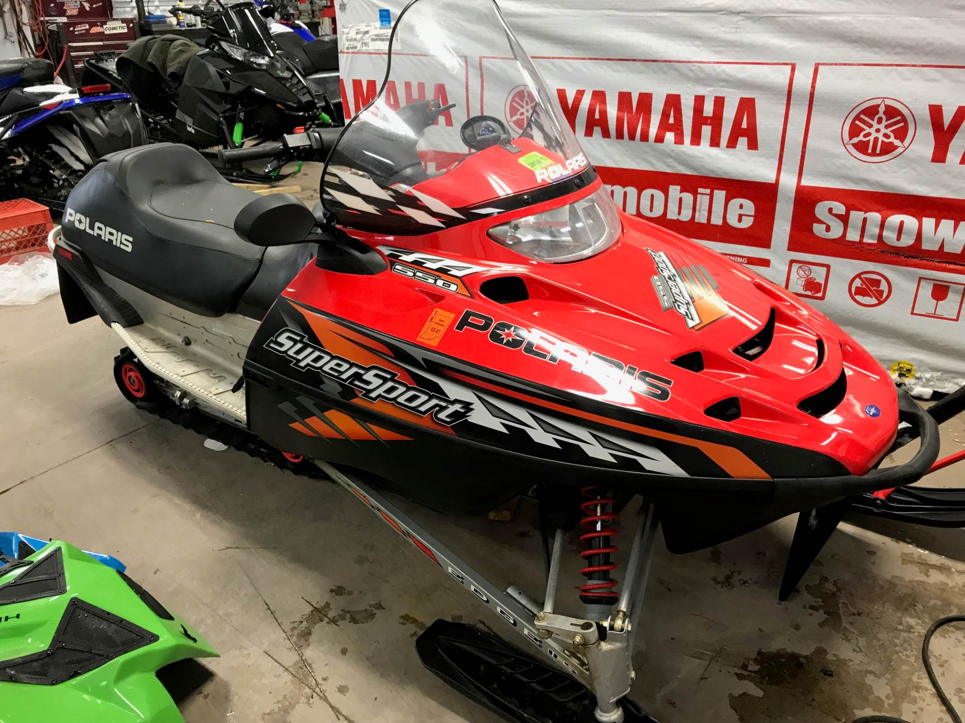 2006 Polaris Super Sport M-10 in Hancock, Michigan