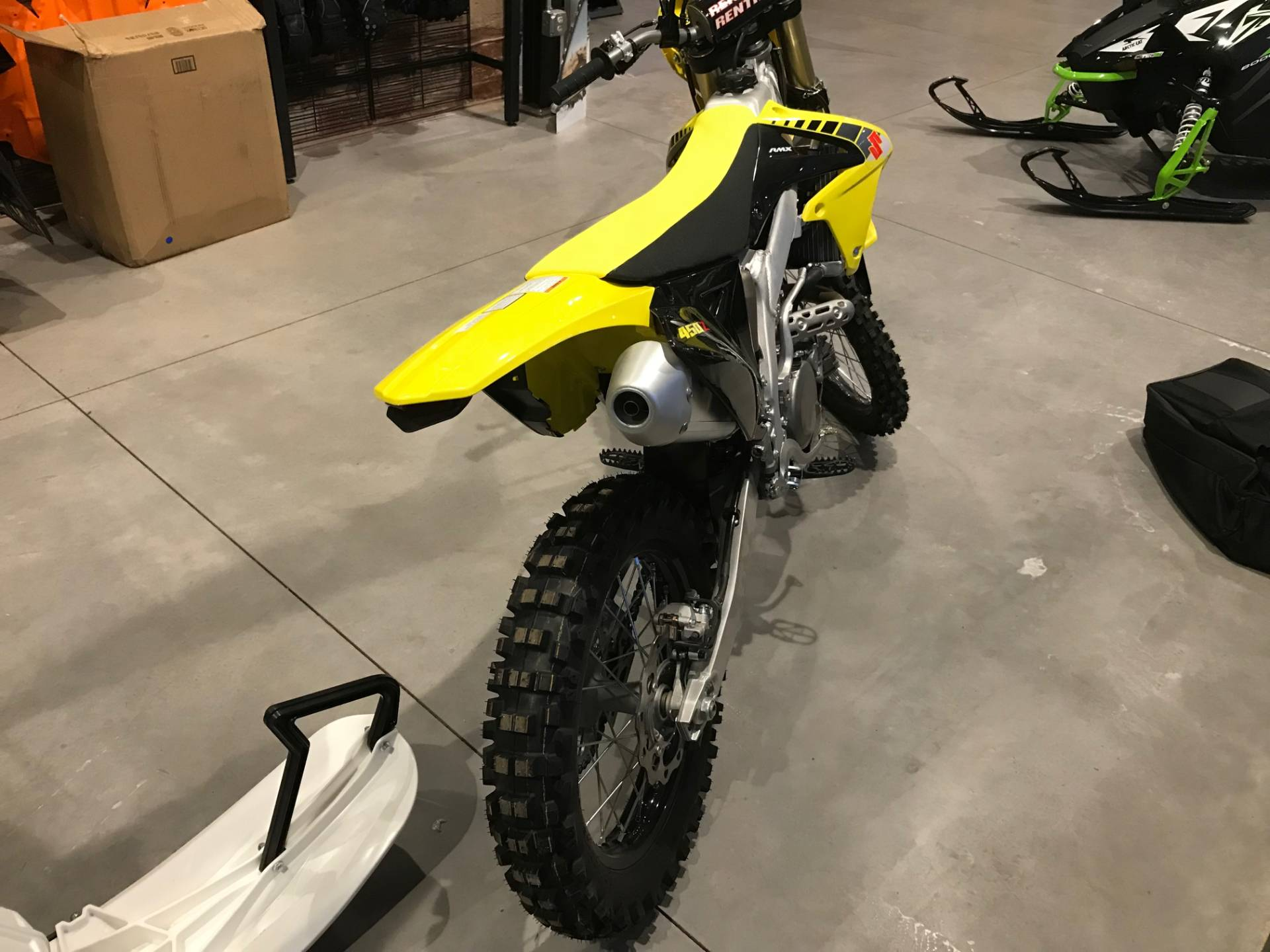 2017 Suzuki RMX450Z in Hancock, Michigan