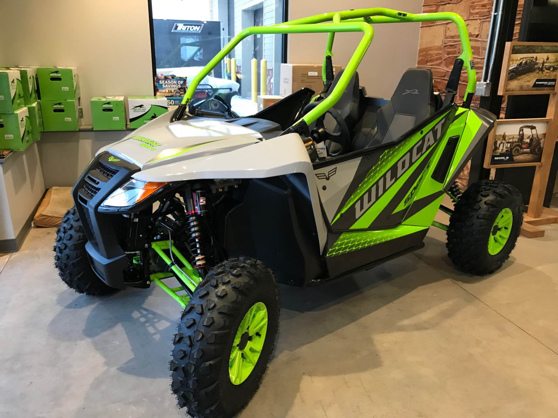 2018 Textron Off Road Wildcat Sport LTD in Hancock, Michigan