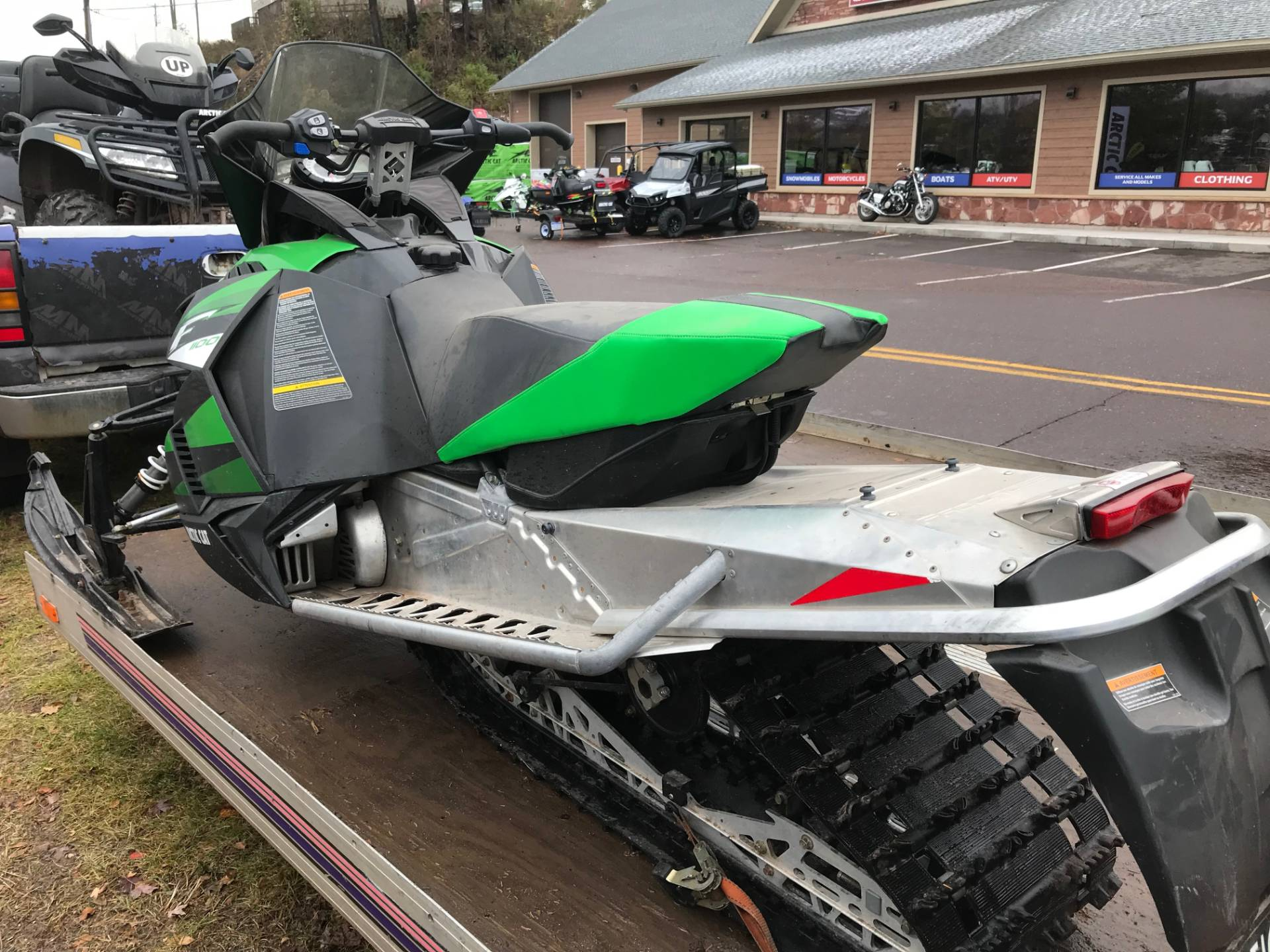 2012 Arctic Cat F 1100 LXR in Hancock, Michigan