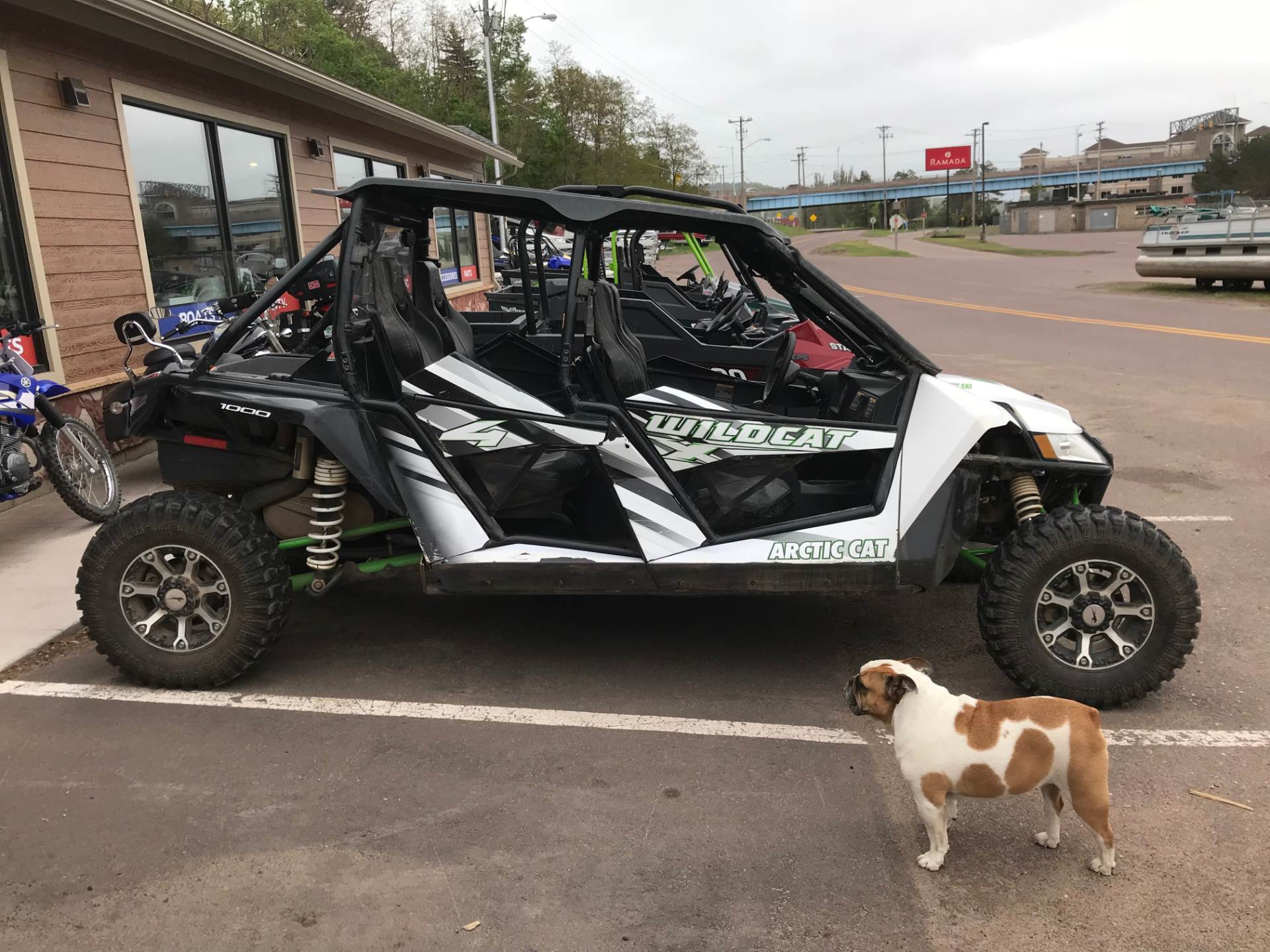 2016 Arctic Cat Wildcat 4x In Han Michigan