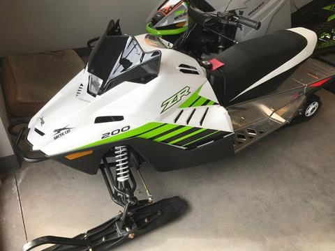 2018 Arctic Cat ZR 200 in Hancock, Michigan