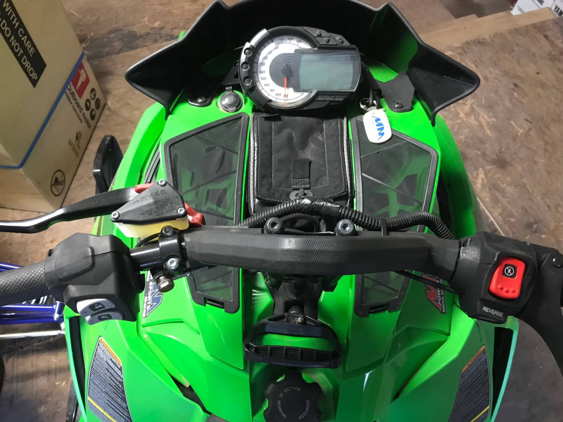 "2016 Arctic Cat M 8000 153"" Limited ES in Hancock, Michigan"