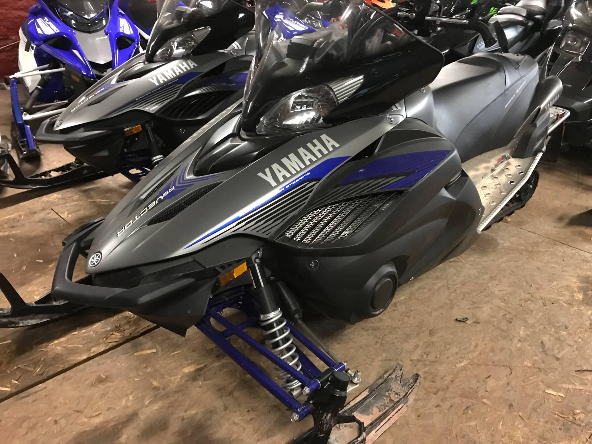 New 2016 yamaha rs vector x tx snowmobiles in hancock mi for Yamaha credit card phone number