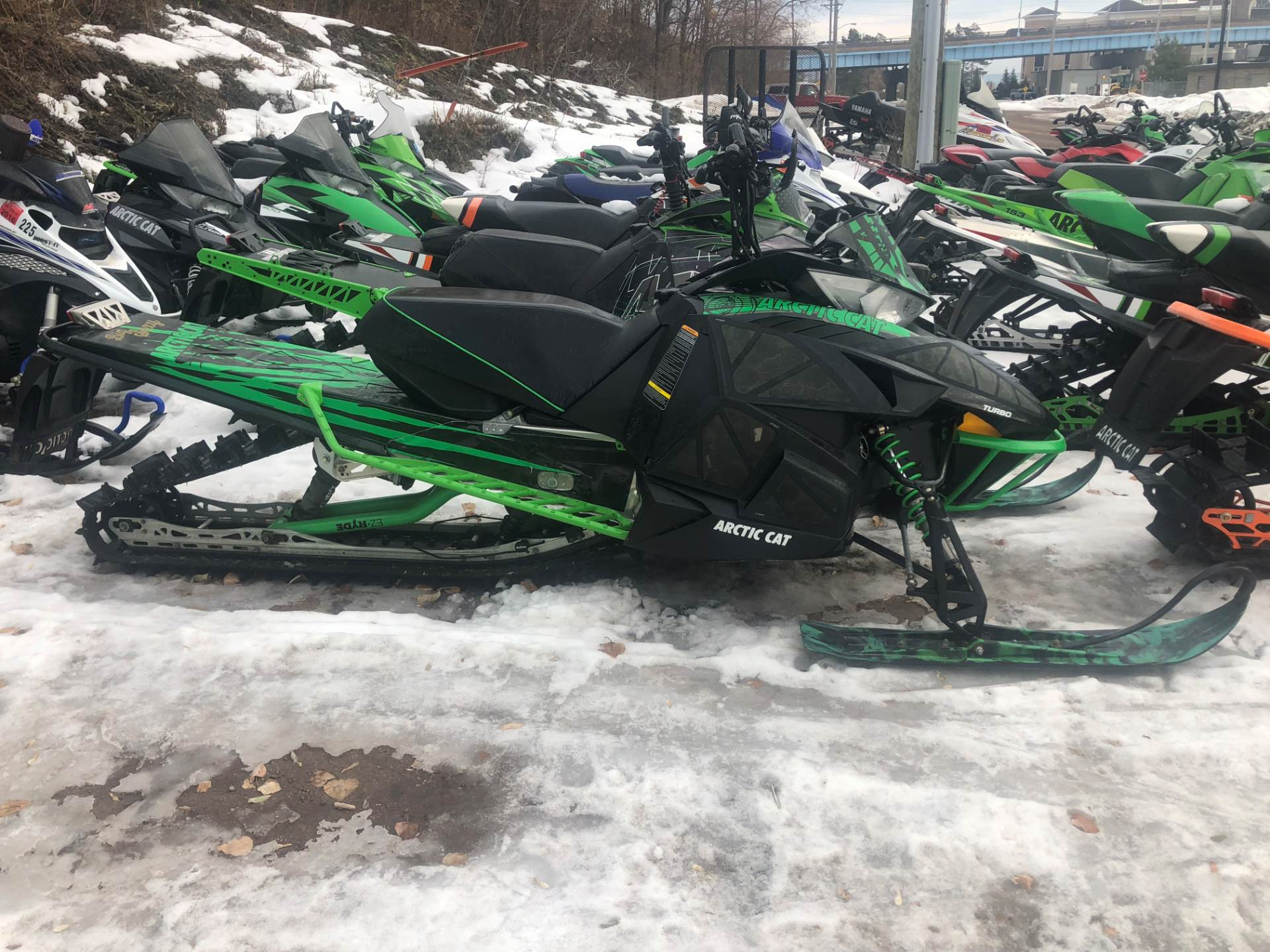 "2012 Arctic Cat M 1100 Turbo Sno Pro® 162"" 50th Anniversary in Hancock, Michigan - Photo 1"