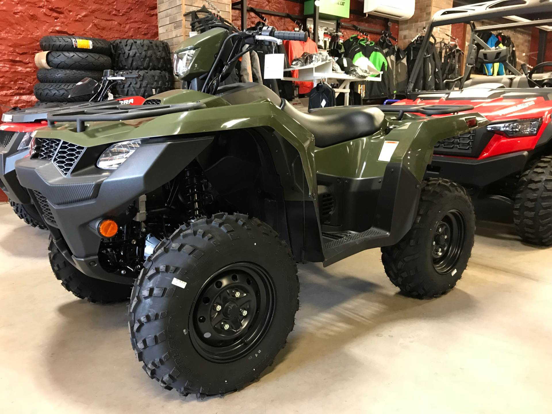 2019 Suzuki KingQuad 500AXi in Hancock, Michigan