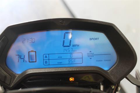 2016 Zero Motorcycles FZ in Allen, Texas