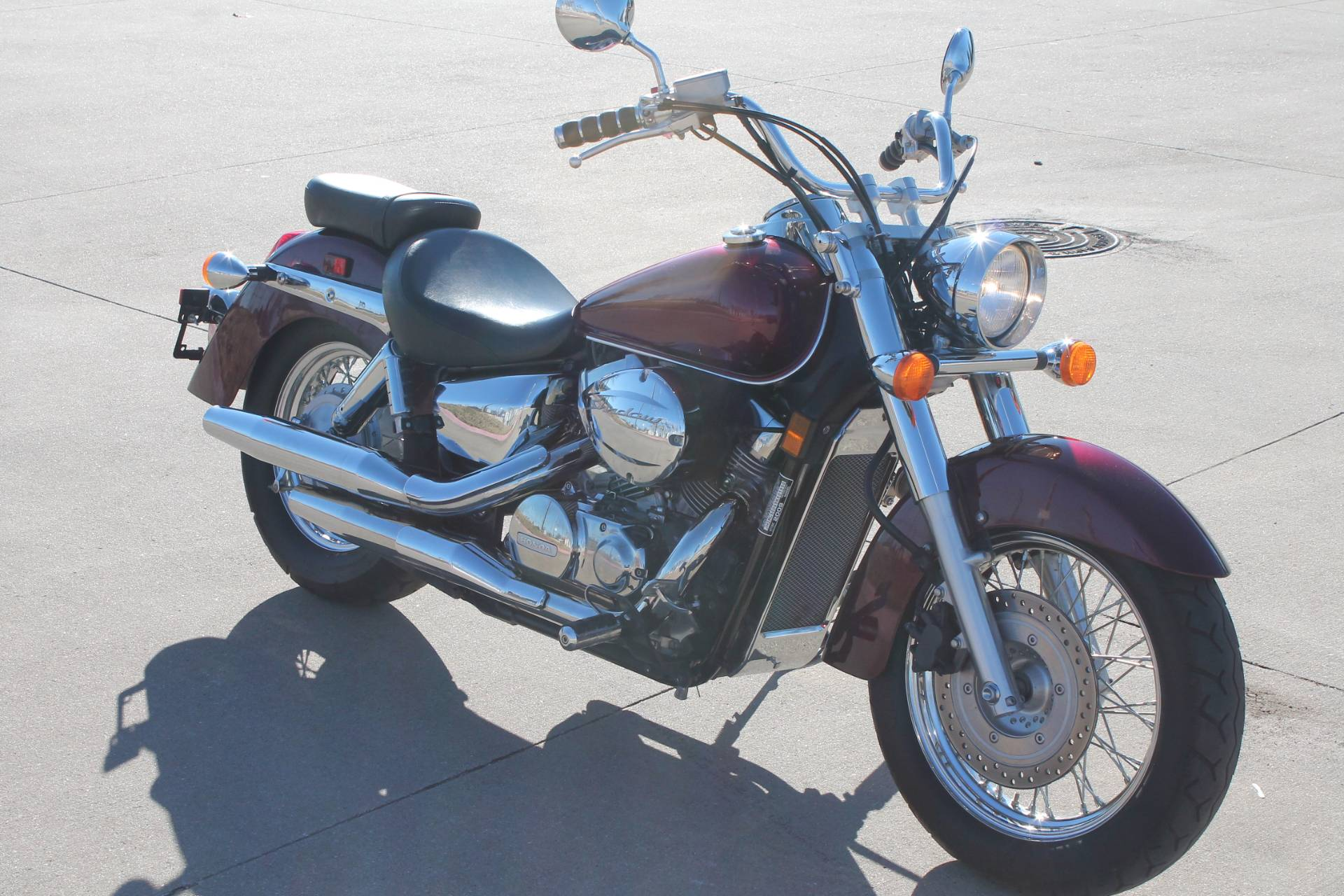2009 Honda Shadow Aero 4