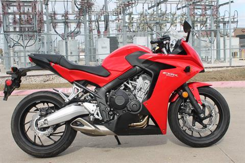 2014 Honda CBR®650F in Allen, Texas