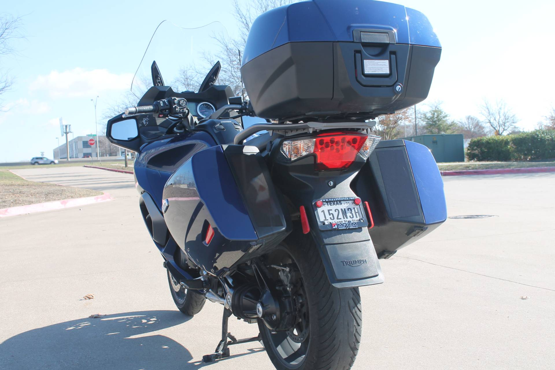 2015 Triumph Trophy SE ABS in Allen, Texas - Photo 4
