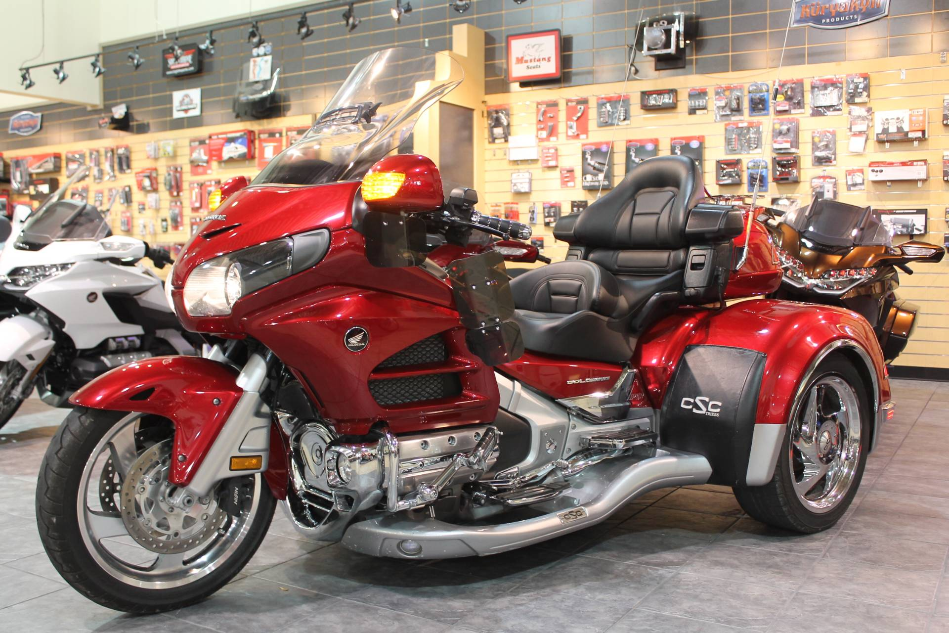 2014 Honda GL1800 Goldwing California Side Car Viper 1