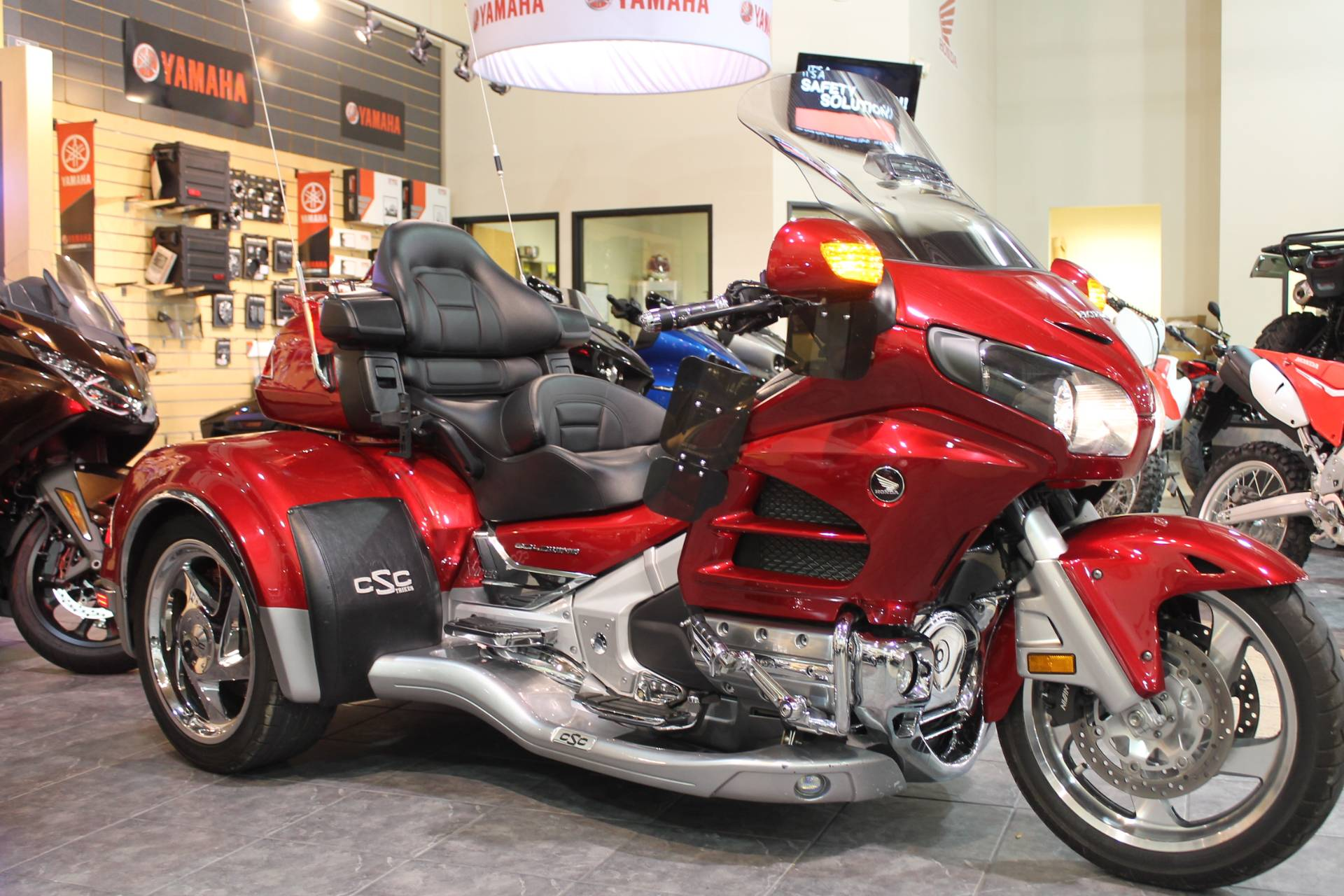 2014 Honda GL1800 Goldwing California Side Car Viper 2