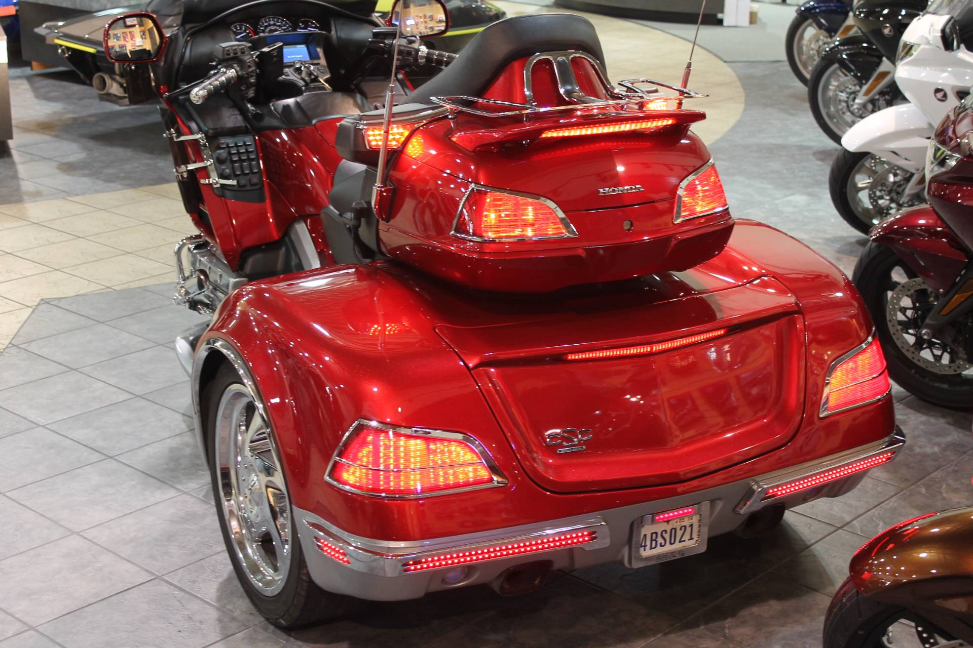 2014 Honda GL1800 Goldwing California Side Car Viper 3