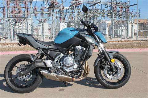 2019 Kawasaki Z650 ABS in Allen, Texas