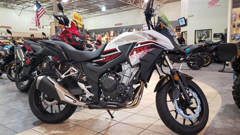 2018 Honda CB500X in Allen, Texas - Photo 1