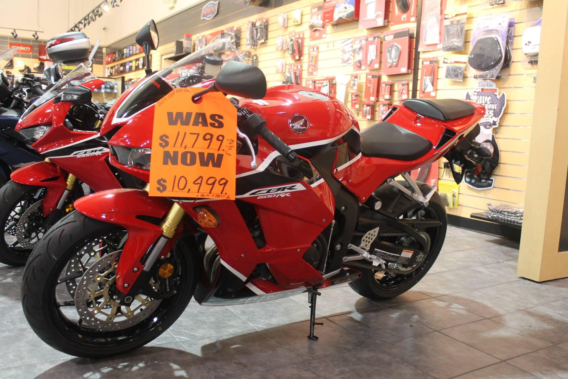 2017 Honda CBR600RR for sale 127038