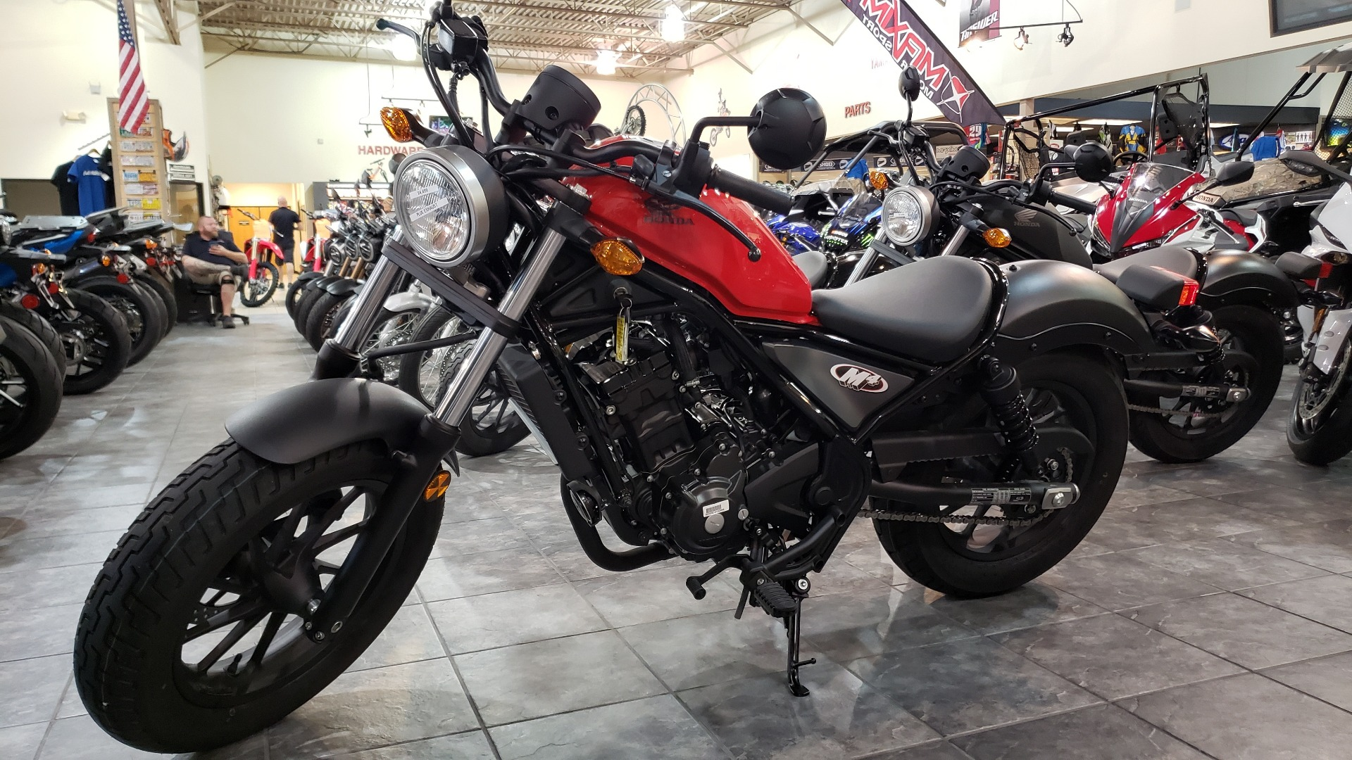 2018 Honda Rebel 300 in Allen, Texas - Photo 3