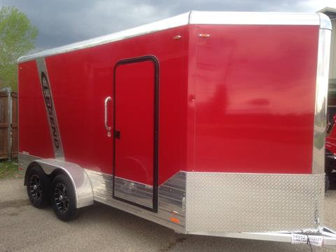 2018 Legend Trailers 7x17DVNTA35 in Elkhorn, Wisconsin