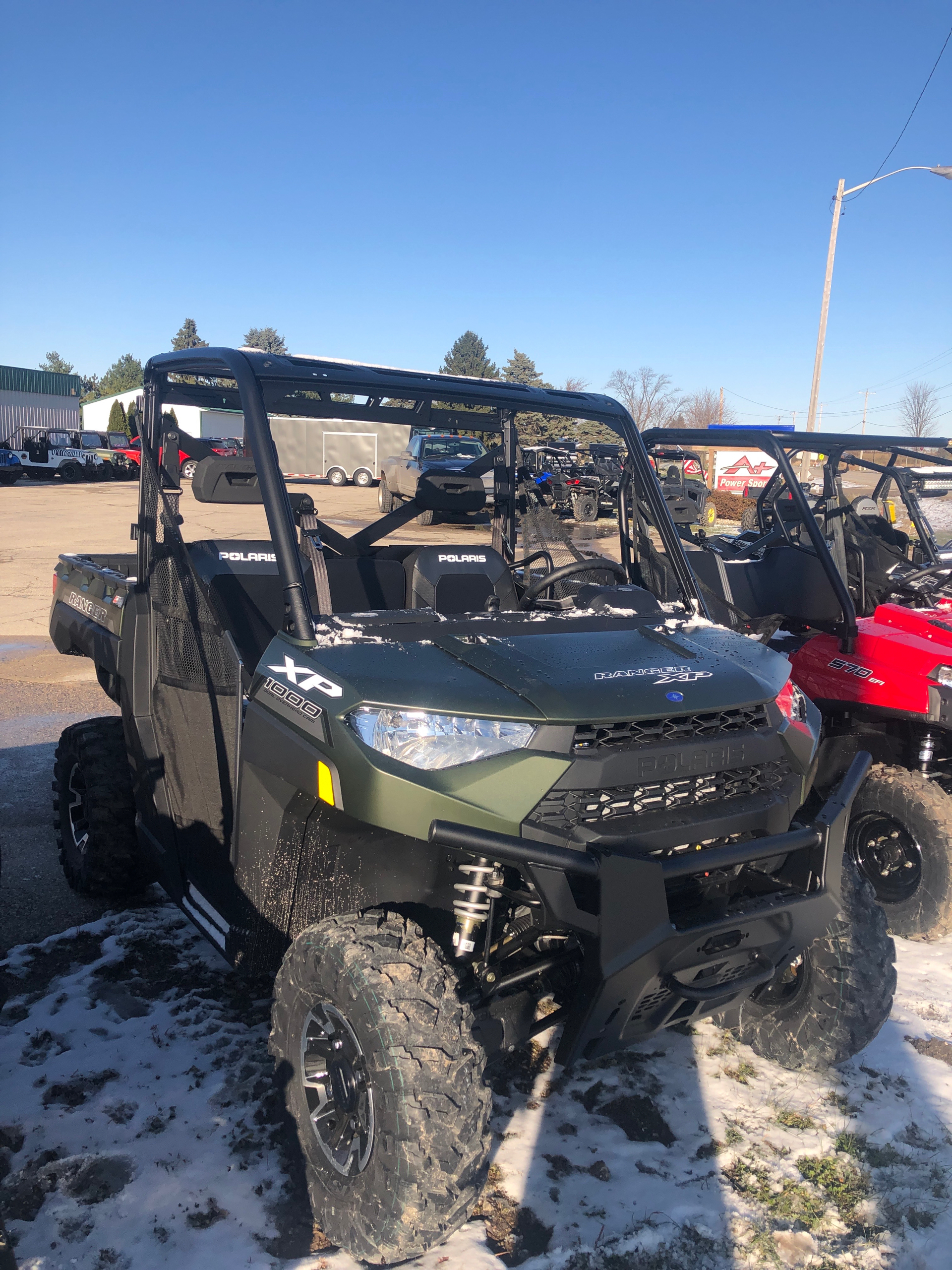 2020 Polaris Ranger XP 1000 Premium in Elkhorn, Wisconsin - Photo 2