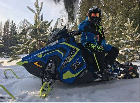 2018 Polaris 800 RUSH PRO-X SnowCheck Select 1
