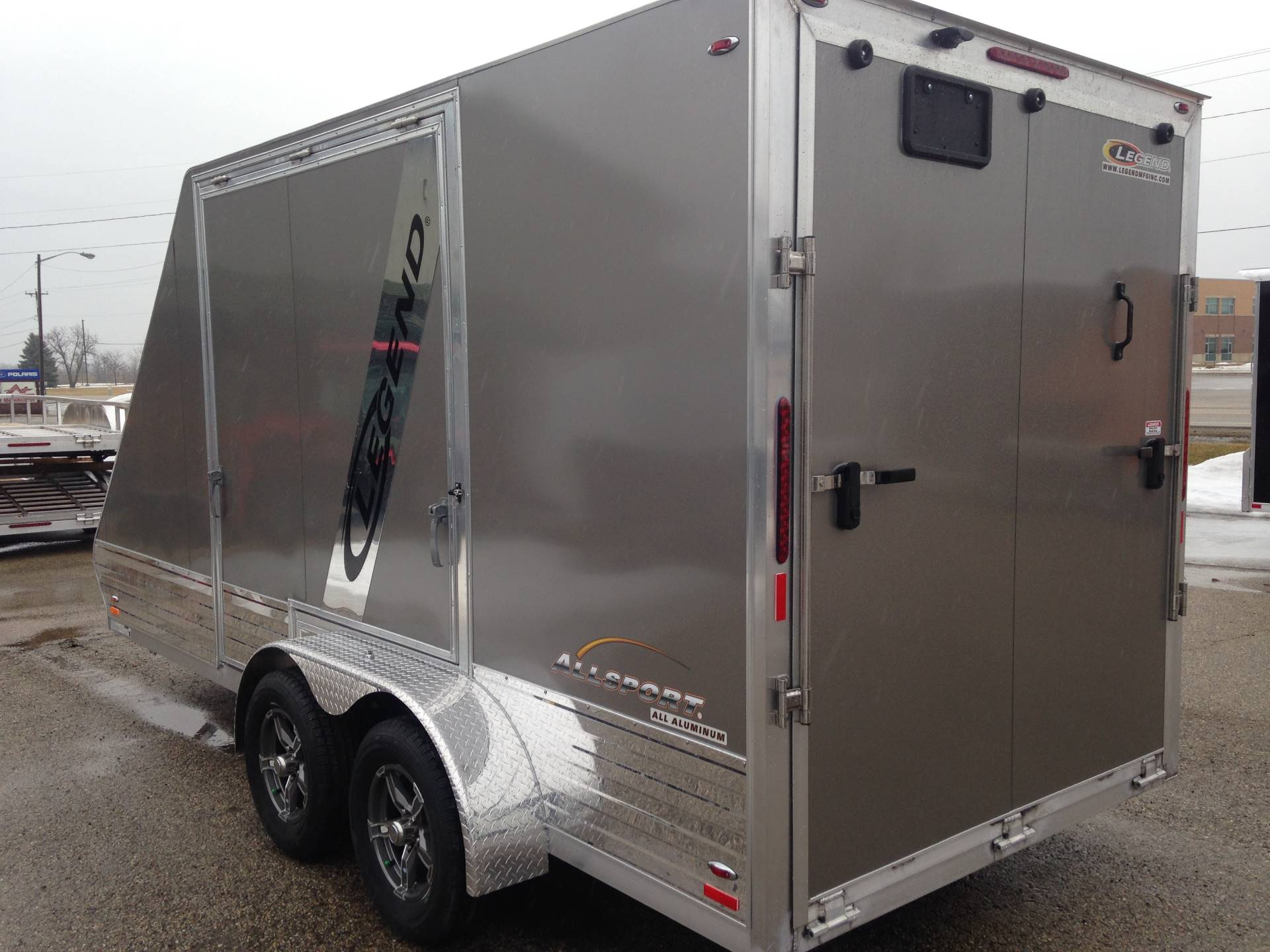 2019 Legend Trailers 7X17ASD ALL SPORT DELUXE in Elkhorn, Wisconsin - Photo 3