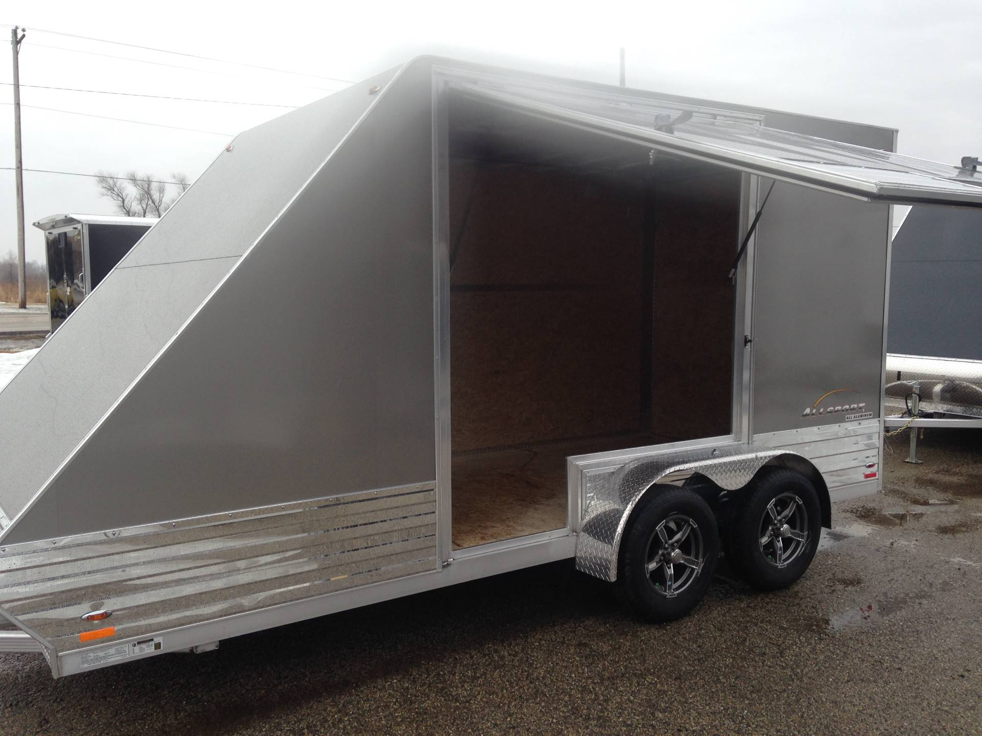 2019 Legend Trailers 7X17ASD ALL SPORT DELUXE in Elkhorn, Wisconsin - Photo 4